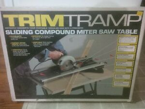Sliding Compound Miter Saw Table