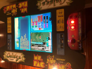 Table top Arcade game with 412 games