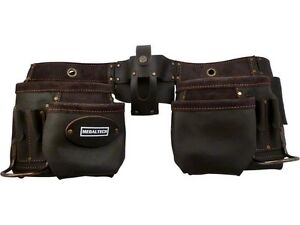 Leather Nail Bag Tool Belt Pouch Professional High Quality cow hide + Free Gift