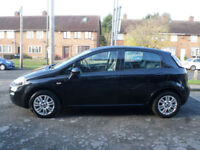 2012 Fiat Punto 1.2 8v ( 69bhp ) Easy 5DR 62REG Petrol Black