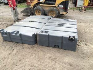 2 small- mid sized Septic tanks