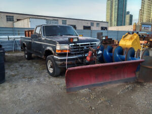 1995 Ford F-250 Plow Truck