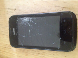 Huawei - cracked screen- Negotiable