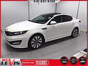 Kia Optima SX-TURBO-FULL-CUIR-TOIT PANO-GPS 2013