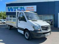 2014 Mercedes-Benz Sprinter 313 CDI DROPSIDE 14FT BED *TAIL LIFT* used vans Drop