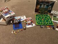 Lego minotaurus and Lego pirate plank games complete