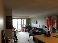 1 Bed + Den Condo and parking rental in the Junction