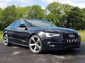 Audi A5 2.0 TDI Black Edition 2dr (black) 2013