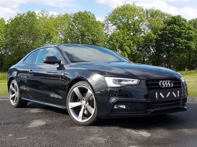 Audi A5 2.0 TDI Black Edition 2dr (black) 2013
