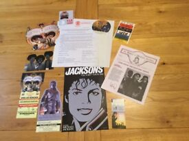 MICHAEL JACKSON. WOW WHAT A GREAT COLLECTION OF 20 VERY INTERESTING VARIOUS AND AMAZING ITEMS.