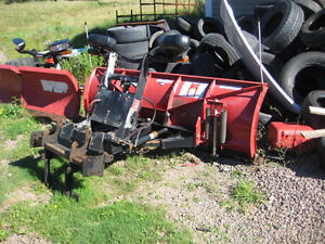 Boss Snow Plow Like New with ford f-250 mount