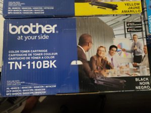 Selling BRAND-NEW, SEALED, Brother TN-110 4-Colour Set, OEM