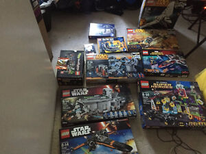 Lego for sale (Star Wars, Heroes of Justice, Mini figures,Etc..)