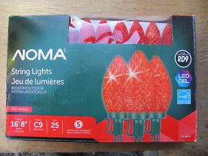 Brand New Noma - RED LED C9 ( 25 )