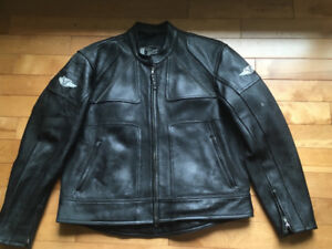 Vented Leather Victory Motorcycle jacket XL