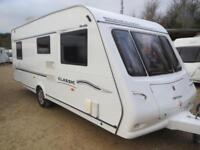 Compass Classic 544 2007 4 Berth Fixed Bed Single Axle Touring Caravan