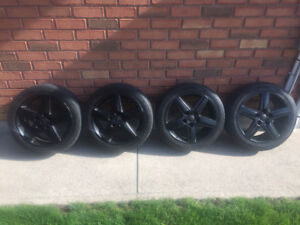 """Audi/VW 17"""" rims and tires"""