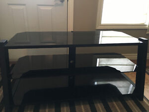 Glass tv and Electronics stand