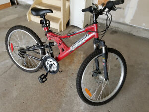 Unisex Bicycle Raleigh Triumph - 21 speed 24 inch wheels