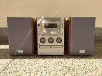 Sony hifi DVD system CD/DVD/Cassette stereo with speakers