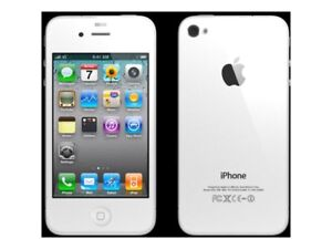 iPhone 4 with case