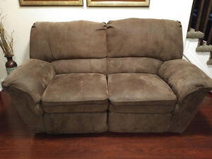 Recliner sofa & loveseat