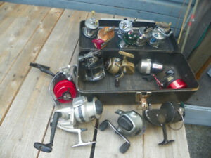Vintage Fishing Reel Large Lot