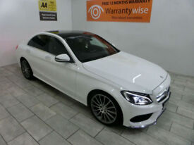 2016,Mercedes C220 2.1d 170bhp Auto AMG***BUY FOR ONLY £120 PER WEEK***