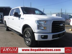 2017 Ford F150 XLT 4D SUPERCREW 4WD XLT