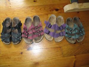 1 pairs Birkenstocks left, size 38 (8), $35 each