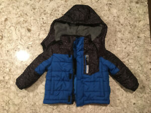 Toddler Boy Winter Jacket & Boots