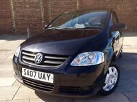 2007 VOLKSWAGEN FOX + CENTRAL LOCKING + ELECTRIC WINDOWS + CD + JAN MOT .