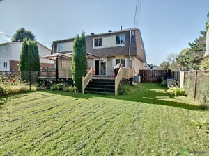 Renovated Semi Detached in Brossard, perfect for families