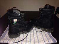 Womens's steel toed work boots
