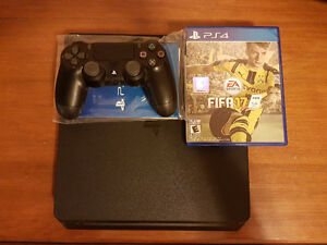 PS4 Slim With Controller x1 and Fifa 17 (Negotiable)