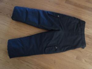 Black Snow Pants - Superb Condition - Kids Size 10/12