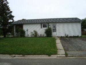 OPEN HOUSE - 3 Bedroom Bungalow on a Corner Lot in Kincardine