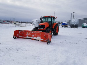 **FREE DELIVERY** 2011 kubota m126x with Pro-Fusion snow plow