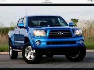WANTED 2010 2015  Toyota Tacoma TRD