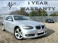 2007 BMW 325i 2.5 SE COUPE 320 330 E92 M-SPORT EXTRAS ☆ FSH ☆ LEATHER ☆ XENONS