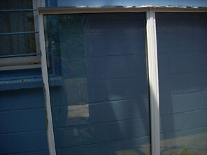 replaced  windows in good condition