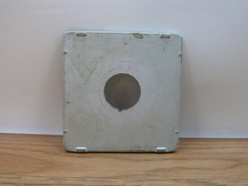 4x5 Pacemaker Crown/ Speed Graphic lens board ,( B14)