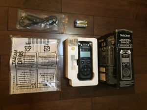 Tascam DR 05 Stereo Portable Digital Audio Recorder