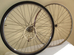 3-SPEED STURMEY-ARCHER WHEELSET.