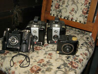 REDUCED AGAIN!!  -  VINTAGE CAMERAS