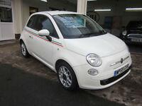 2009 Fiat 500 1.3 MultiJet SPORT DIESEL 1/2 LEATHER LOW MILES FSH 60MPG !!!