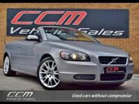 Volvo C70 2.4 i SE 2DR 2007 + BLACK HEATED LEATHER + LOW MILES + WARRANTY