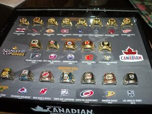 MOLSON STANLEY CUP RING SET Kitchener / Waterloo Kitchener Area image 2