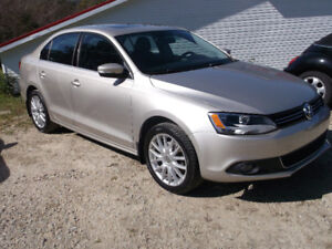 2012 Volkswagen Jetta Highline ONLY 47723 KMS Yarmouth