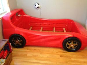 Little Tykes Twin Race Car Bed Frame